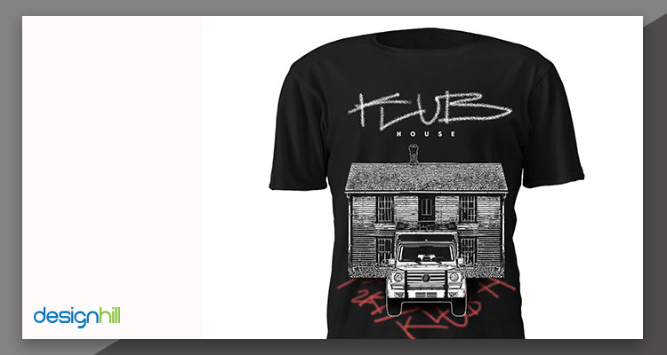 Klub t-shirt design