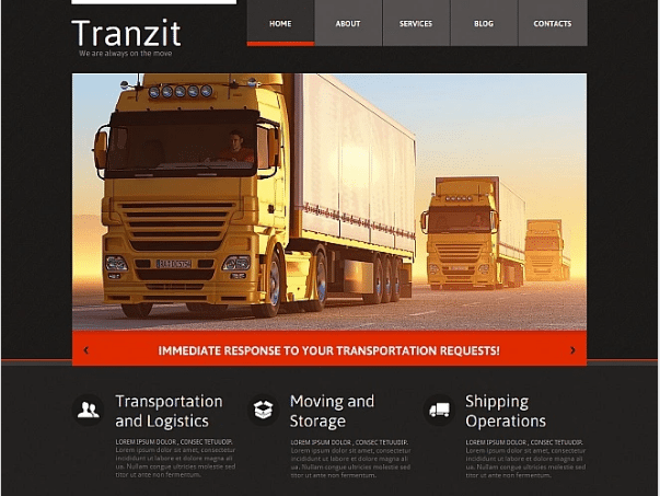 Trucking-Website