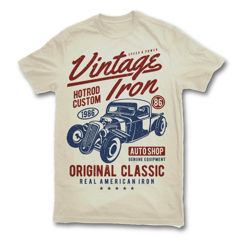 car t shirt design
