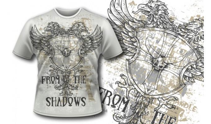 eagle t shirt design
