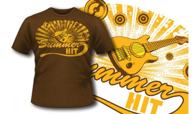 guitar t shirt