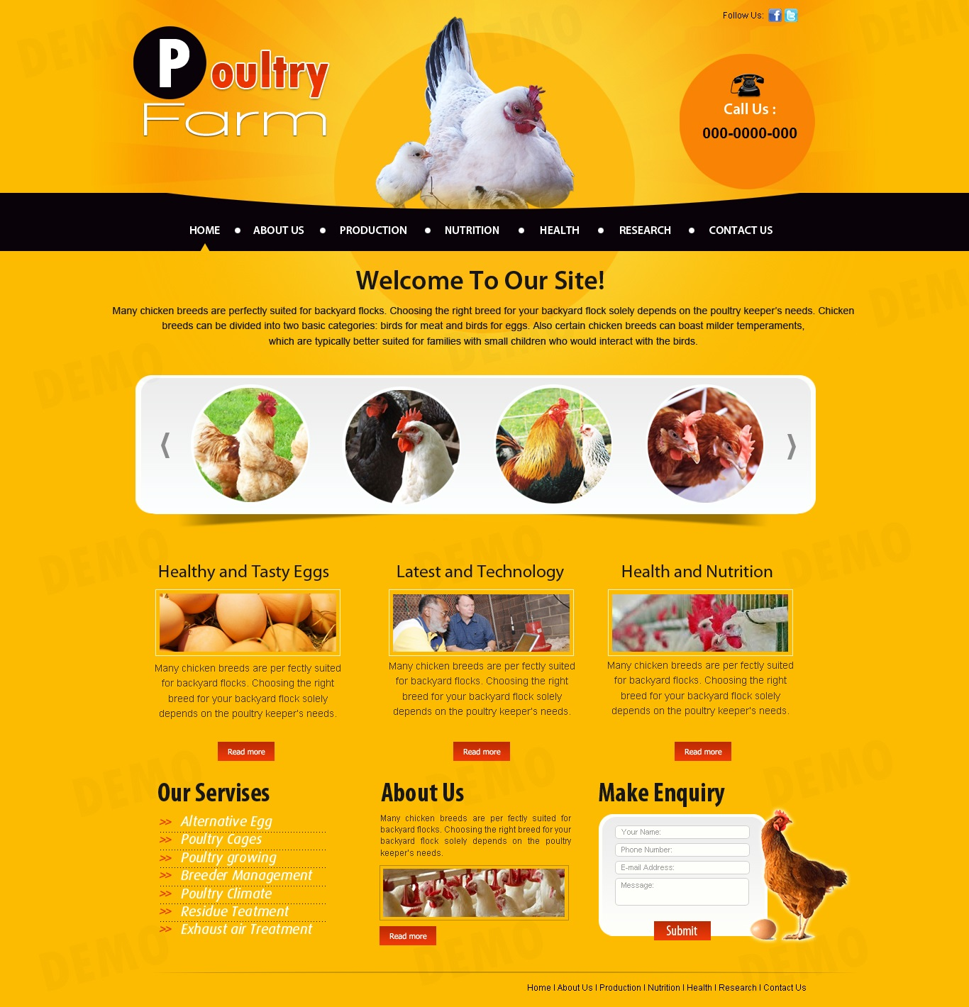 poultry farm website