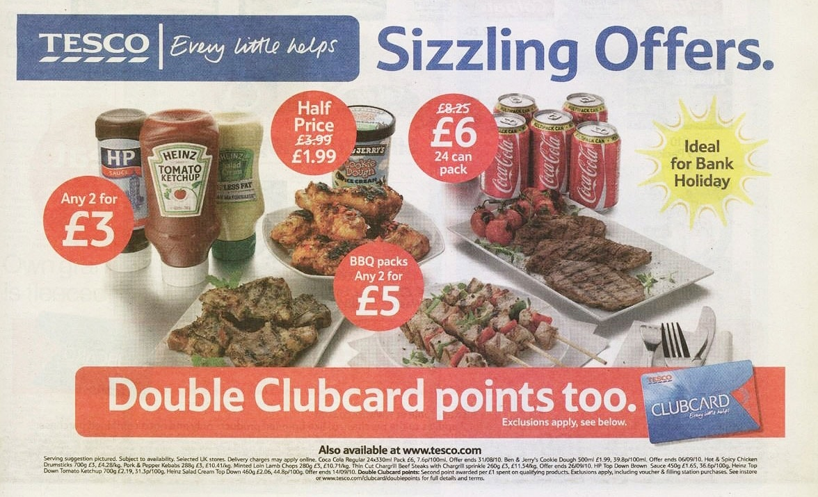 retail store newspaper ad