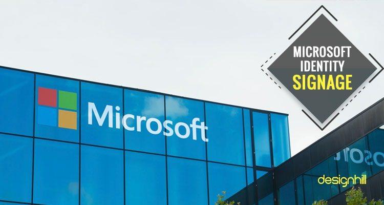 Microsoft Identity Signage