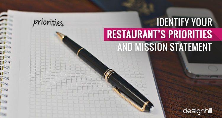 Restaurant's Priorities