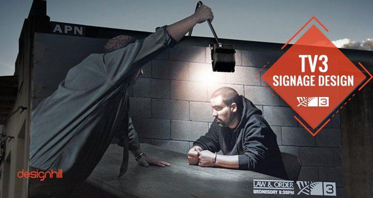 TV3 Signage