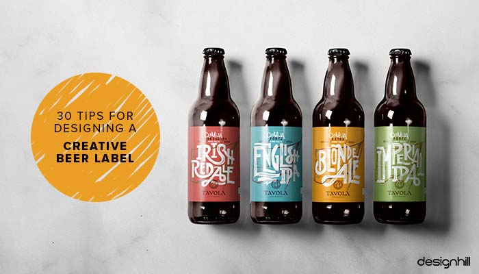 30 Tips For Designing A Creative Beer Label