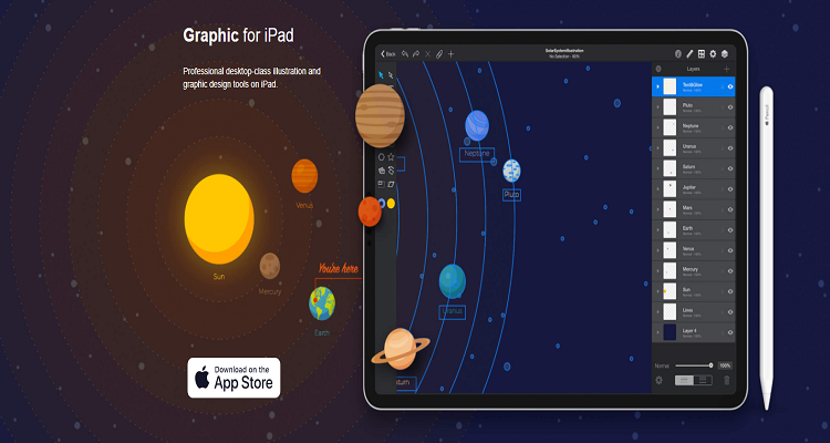 Graphic for iPad