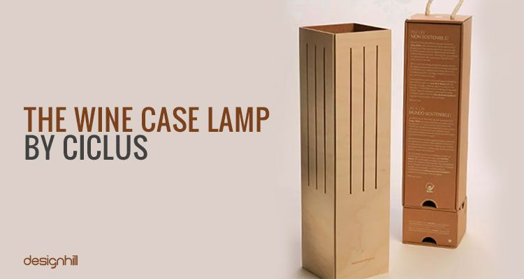 Wine Case Lamp
