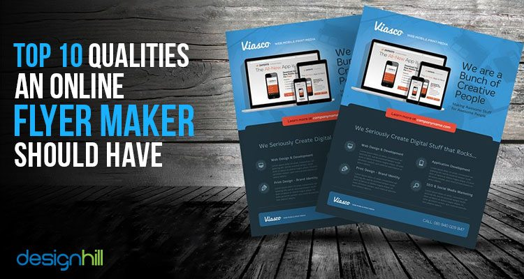 top 10 qualities an online flyer maker should have