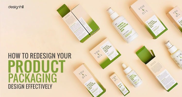 How To Redesign Your Product Packaging Design Effectively
