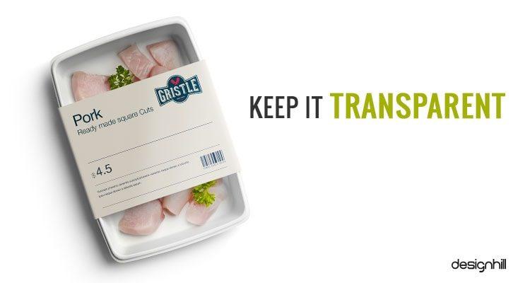Keep It Transparent