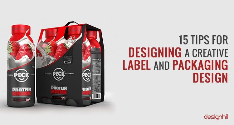 15 Tips For Designing A Creative Label And Packaging Design