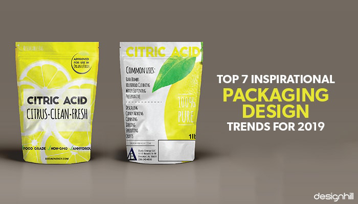 Trendy Package Design: Top 7 Inspirational Packaging Design Trends For 2019