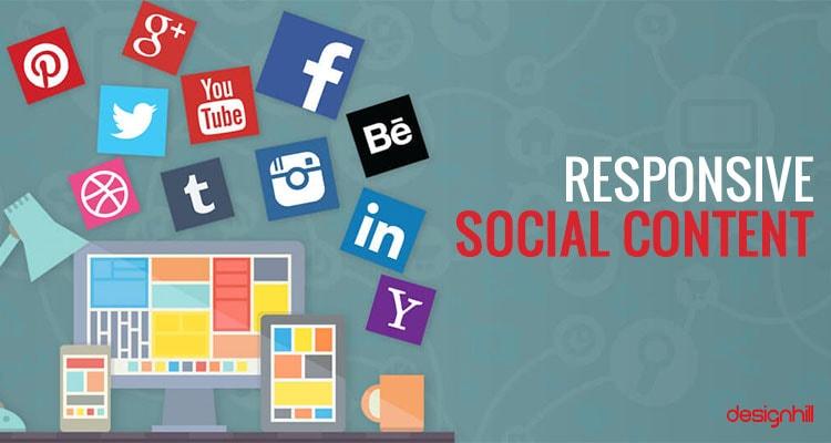 Responsive Social Content
