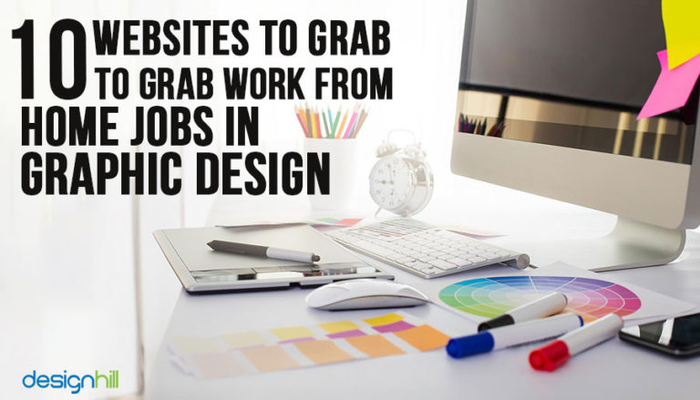 Grab Work From Home Jobs In Graphic Design