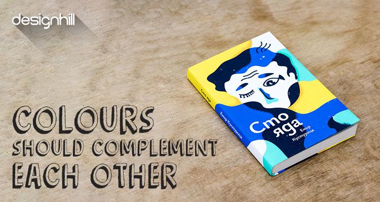 book cover design colors