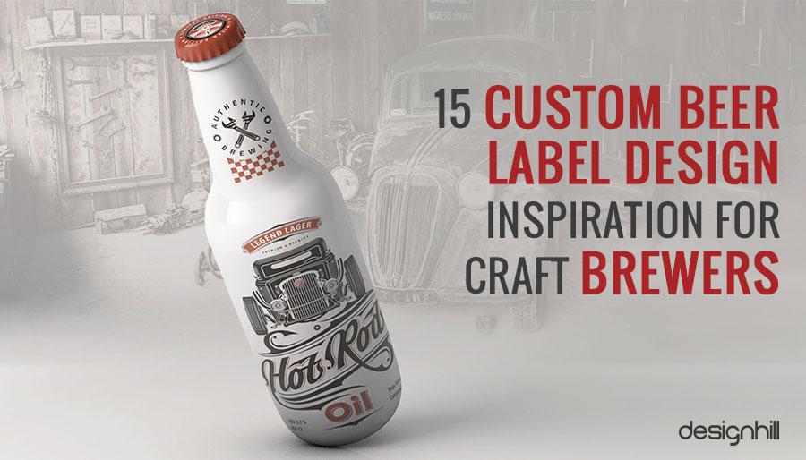 15 Custom Beer Label Design Inspiration For Craft Brewers