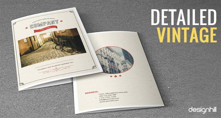 Vintage Brochure Design