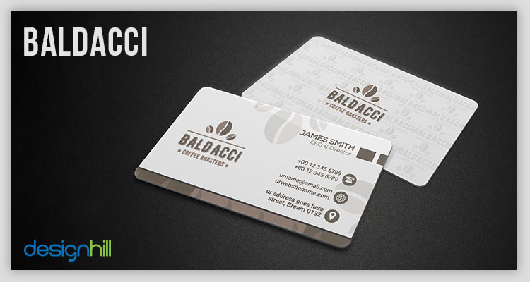 40 stylish business card ideas that increase customer attention the back side has contact details in a visually appealing style there are big icons of phone globe and map location against each of the contact colourmoves