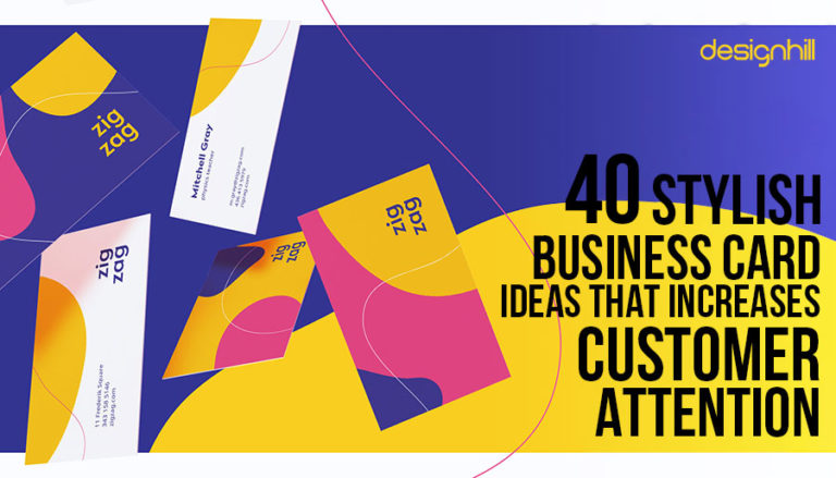 40 stylish business card ideas that increase customer attention business card ideas reheart Image collections