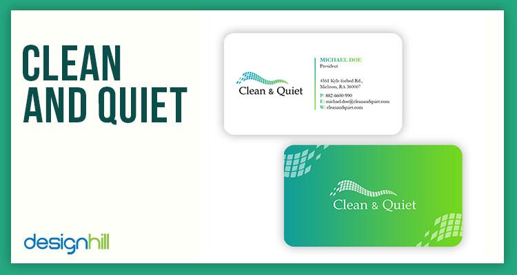 Clean & Quiet
