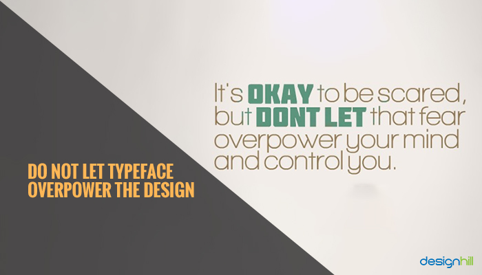 Typeface Overpower