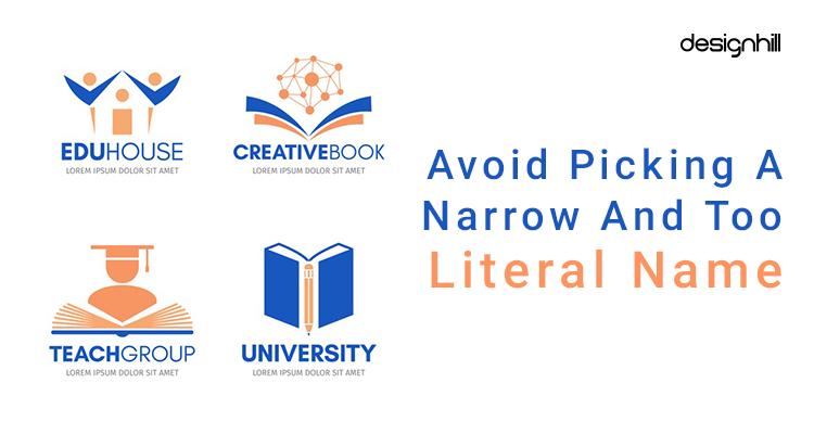 Avoid Literal Name For Educational Institute