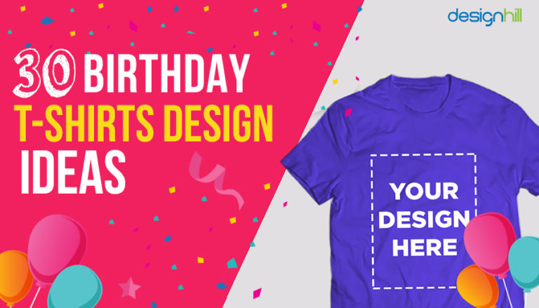 30 Birthday T-shirt Design Ideas