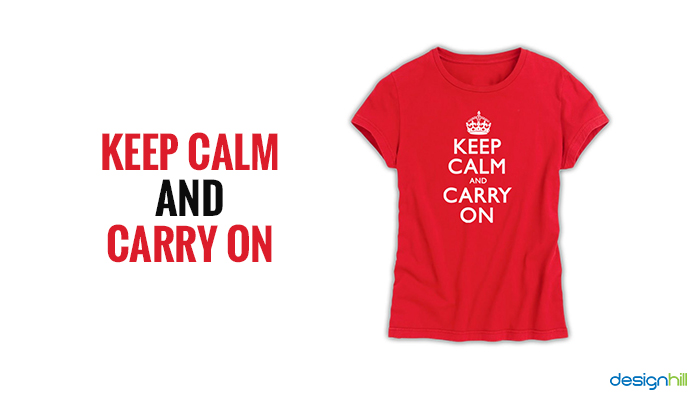 Reading Keep Calm Football T-Shirt