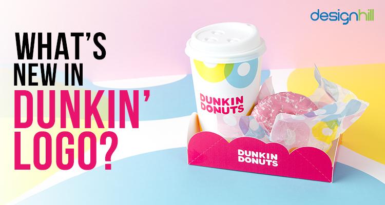 New Dunkin logo