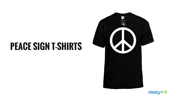 "e96392ce2 It's one of the best examples of custom t-shirt printing that have people a  reason to express their thoughts through t-shirts. People still find ""Give  Peace ..."