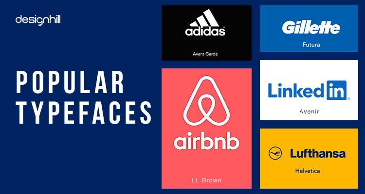 Popular Typefaces