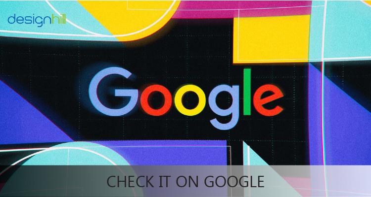 Check It On Google
