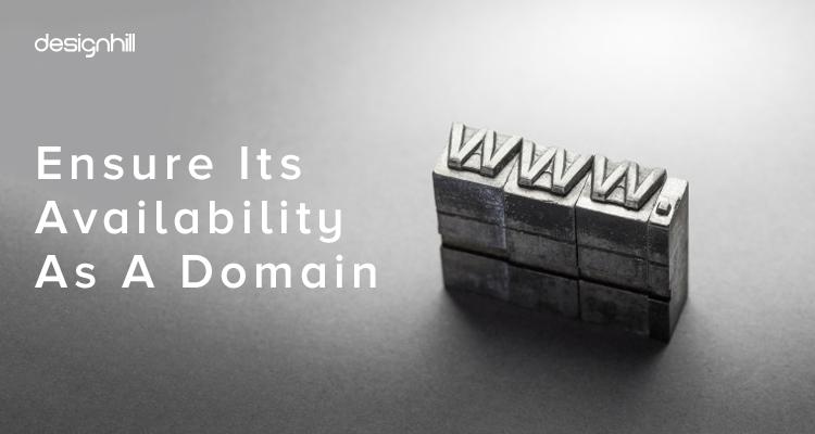 Availability As A Domain
