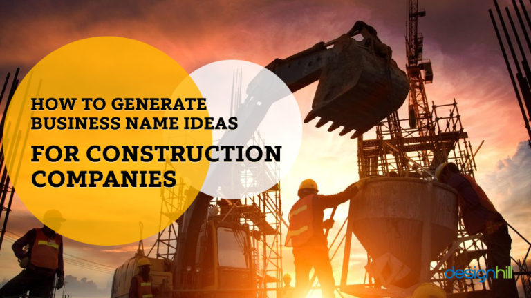 How To Generate Business Name Ideas For Construction
