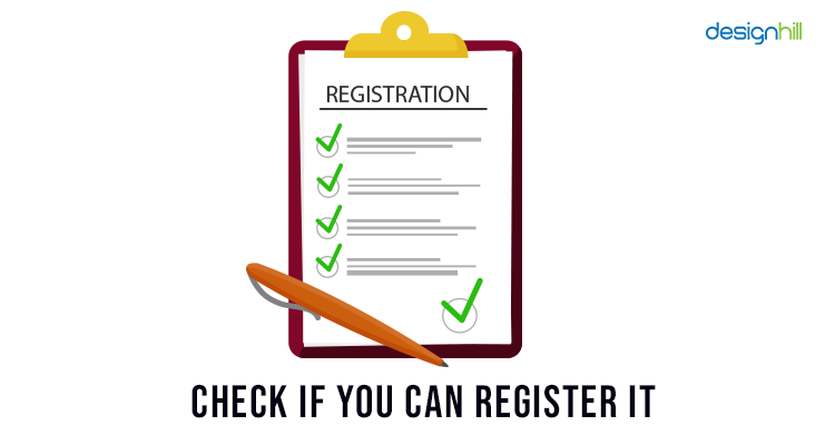 Check If You Can Register It