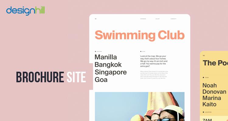 Brochure Site