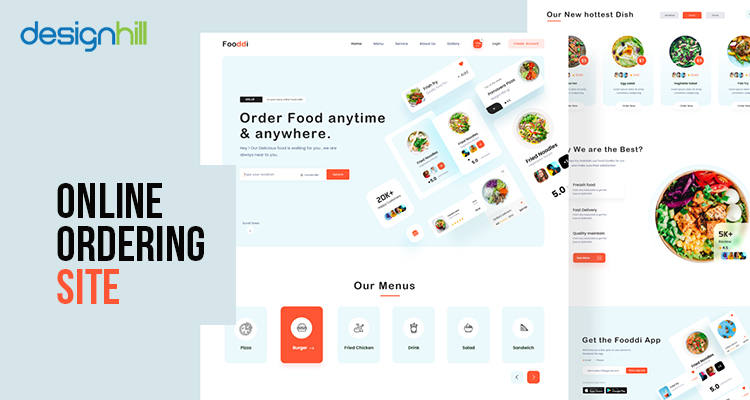 Online Ordering Site