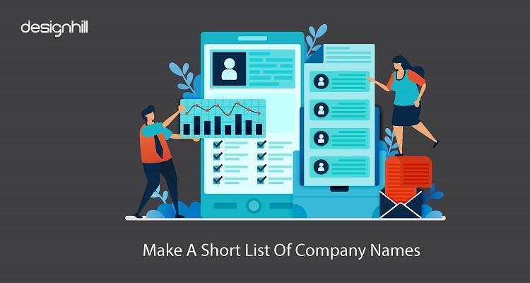 Make A Short List Of Company Names