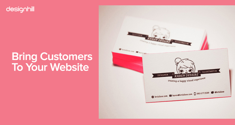 Bring Customers To Your Website