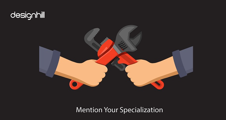 Mention Your Specialization
