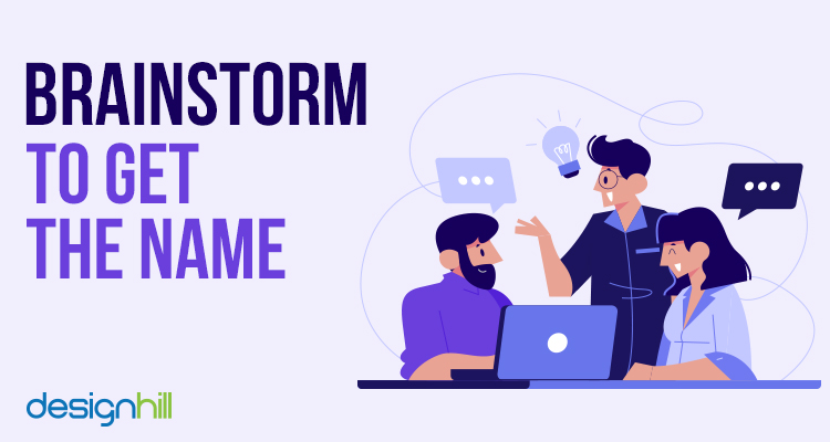 Brainstorm To Get The Name