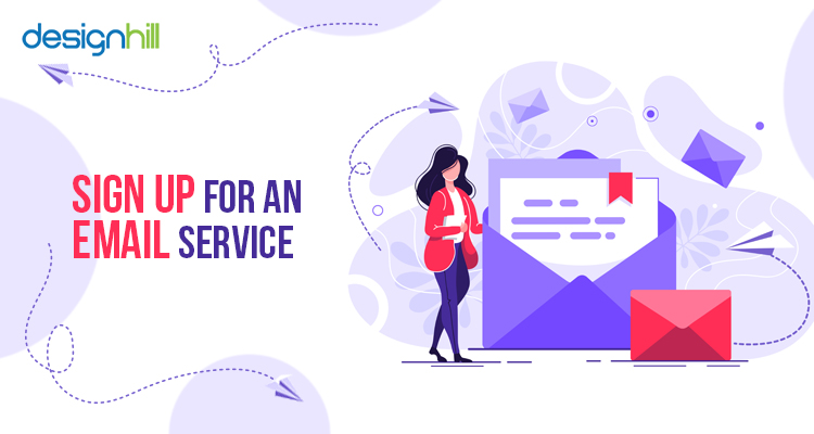 Sign Up For An Email Service