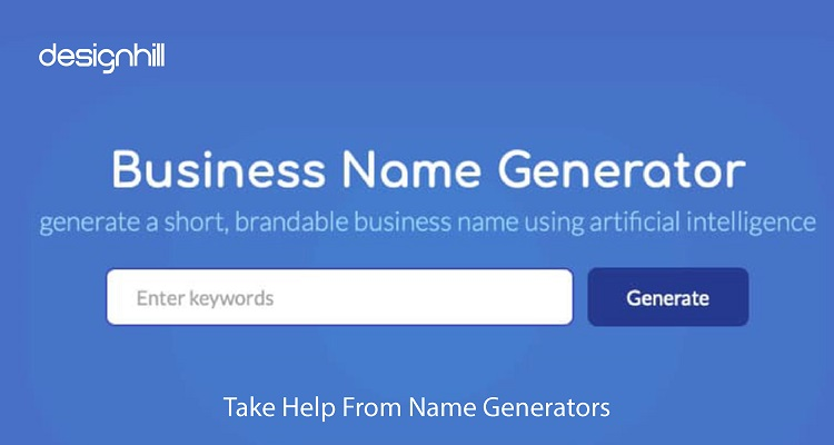 Take Help From Name Generators