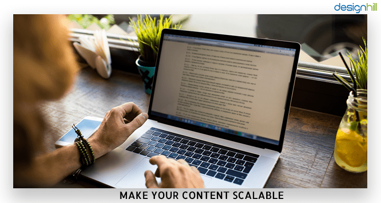 Content Scalable
