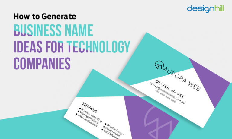 How To Generate Business Name Ideas For Technology