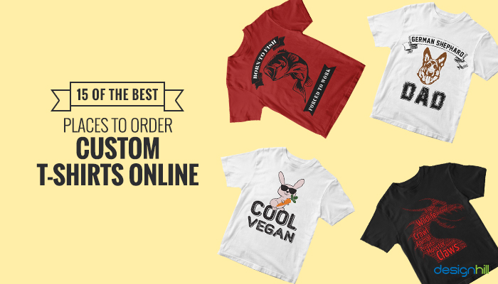Best Places To Order Custom T Shirts