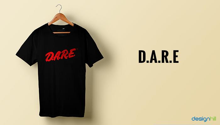 D.A.R.E. T-Shirt Design