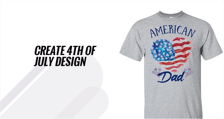 Create 4th Of July Design